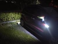 Qirun led daytime running lights drl reverse lamp fender driving lights turn signal for Mitsubishi L300 Express Starwagon Lancer