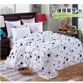 For sofa bed textile lovely fluffy wool fluffy boy with thick blanket wool blanket winter stars Blankets, coral fleece blankets