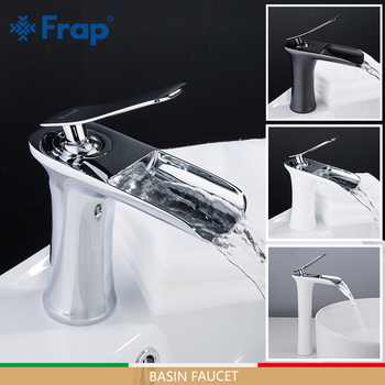 FRAP Basin Faucets waterfall faucet basin mixers sink taps bathroom faucet water tap rainfall mixer torneira do anheiro 1