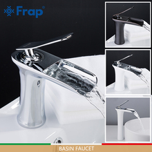 FRAP Basin Faucets waterfall faucet basin mixers sink taps bathroom faucet water tap rainfall mixer torneira do anheiro gappo basin faucet bathroom mixer tap chrome waterfall faucet basin sink tap water mixer tap water torneira do anheiro