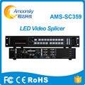 Drei Bild Video Spleißen Prozessor Für Led bildschirm Video Wand Splitter Professionelle Gerät Für Led Live Events AMS SC359|LED-Fernseher|   -
