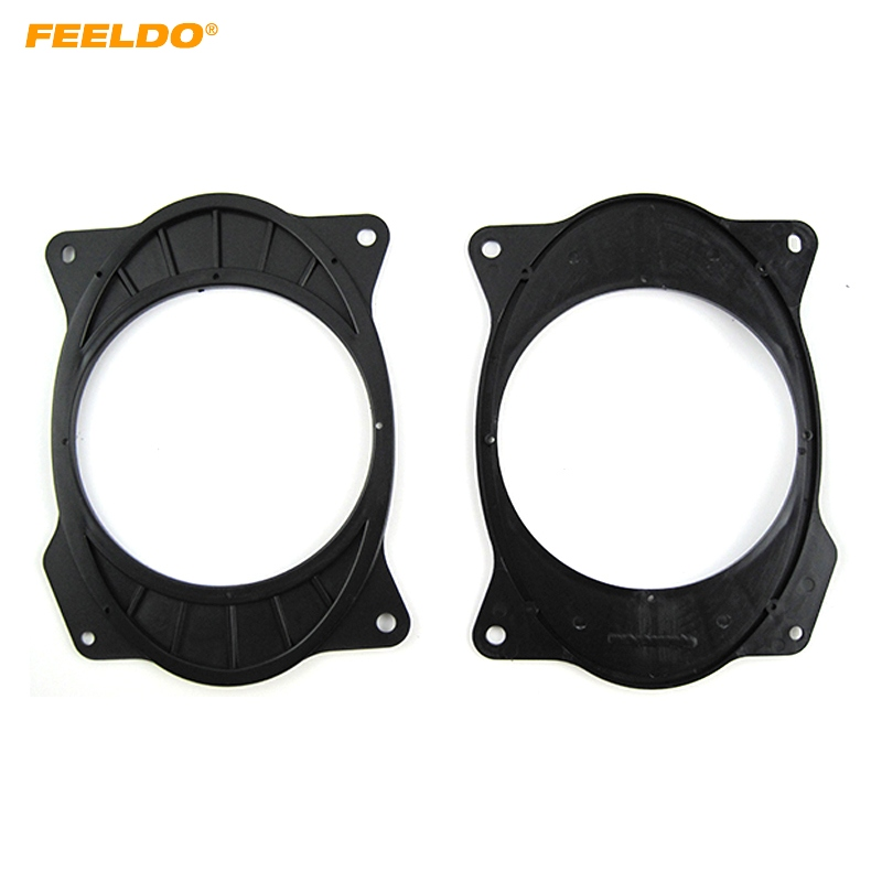 FEELDO 2pcs <font><b>Car</b></font> Speaker <font><b>Mat</b></font> for Toyota Camry Reiz Corolla 2006-2011 <font><b>Lexus</b></font> <font><b>IS200</b></font>/IS300 Solid 6*9 To 6.5