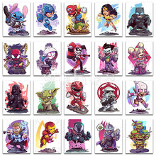 5d diy pintura diamante animal dos desenhos animados marvel star wars completo quadrado diamante bordado ponto cruz completo redondo diamante mosaico #(China)