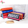 New Arrivals Fashion Women Plaid Wallet Lady PU Leather Coin Purse Money Phone Bag Hand bags Cards Holder Clutch Wallets qb-042
