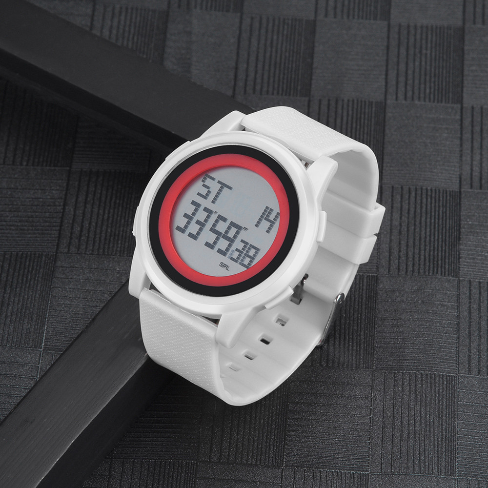 Digital Watch Men Women LED Digital Wrist Watch Waterproof Sport Thin Dial Men's Watch Relogio Masculino