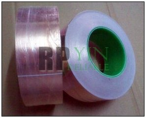 1x 10mm*30M*0.06mm Double Sided Conduct Copper Foil Tape EMI Mask Electromagnetic Shielding запчасти для автоматических столов emi