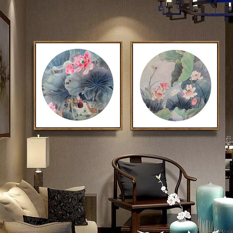 Chinois Peintures Art Mur Huile de Toile Photo Abstraite Tirages Photos Affiche Décor À La Maison