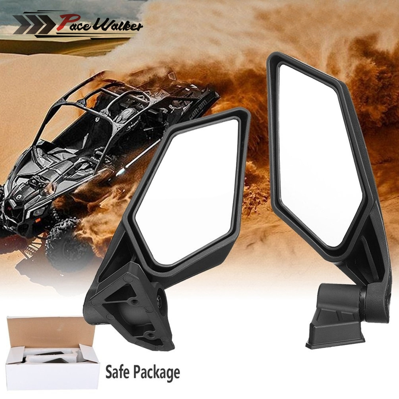 Free Shipping Motorcycle Accessories Black Rearview Side Mirror For UTV RZR May Am Maverick X3 2018 CSL2018Free Shipping Motorcycle Accessories Black Rearview Side Mirror For UTV RZR May Am Maverick X3 2018 CSL2018
