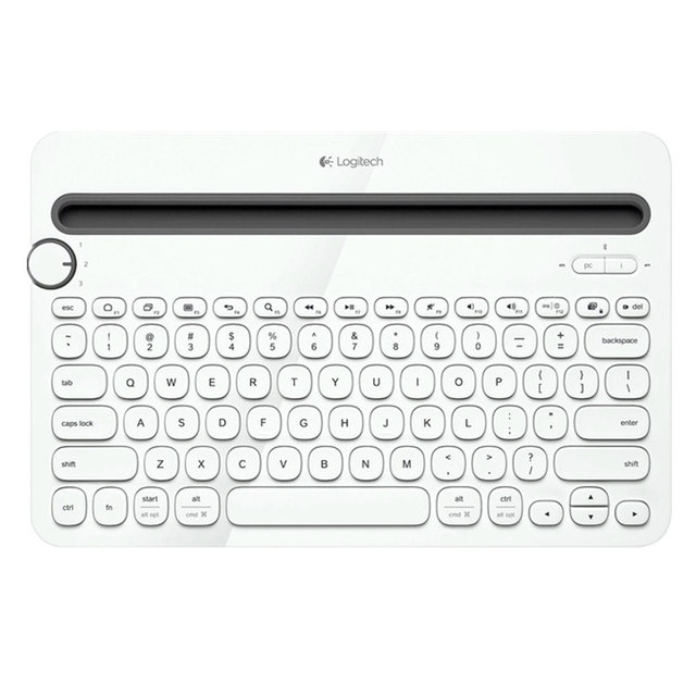 cb6b8d91127 Logitech Bluetooth Multi-Device Keyboard K480 for Computers, Tablets and  Smartphones