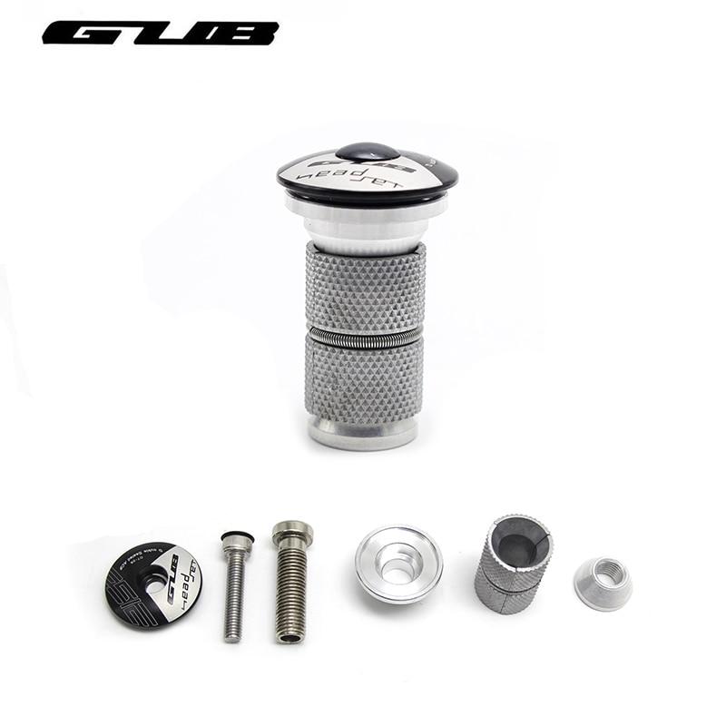 """GUB Expansion hanging core/Headset Expander Plug Stem Top Cap for 1-1/8\"""" 28.6mm Steerer Plug For Road MTB Bike Carbon fiber <font><b>Fork</b></font>"""