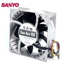 SANYO  New 12CM fan violence heat fan 12038 12V 4A 9SG1212P1G03 120*120*38mm