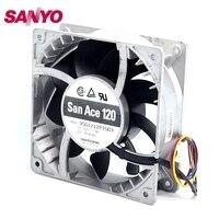 New 12CM Fan Violence Heat Fan 12038 12V 4A 9SG1212P1G03 120 120 38mm