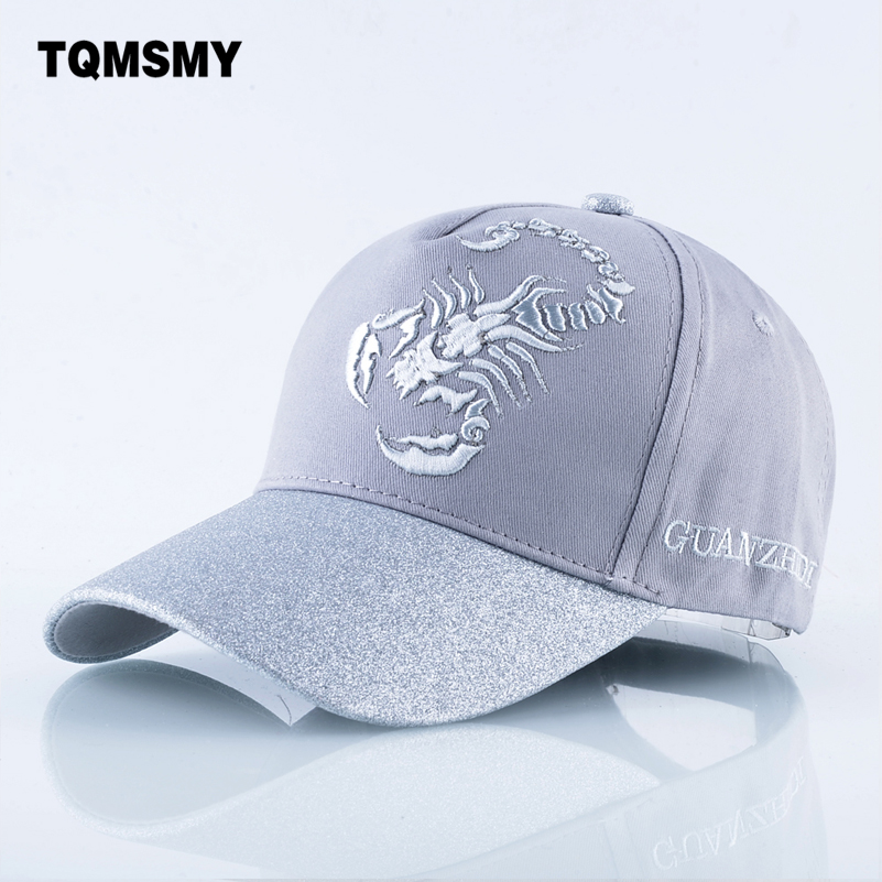 TQMSMY Cotton bone embroidery sun hats for men snapback   caps   Scorpions   cap   women's spring   Baseball     Cap   women Truckers Gorros