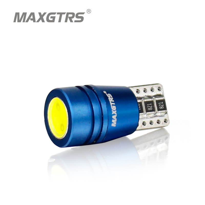 MAXGTRS High Power T10 W5w Led 12V Xenon Warm White 4300K Car Light Lamp Interior Light Canbus Error Warning Free Top Quality