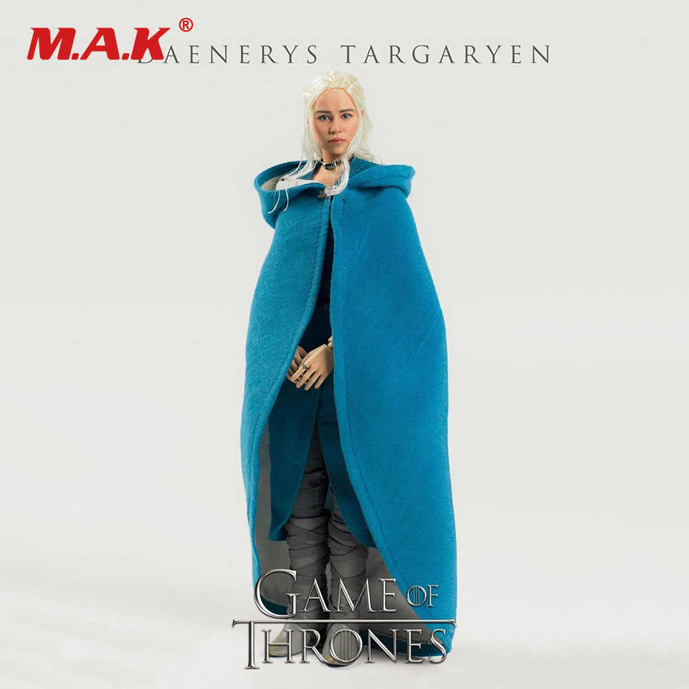 Collectible Figura de Ação Conjunto Completo 3A ThreeZero 3Z0018 Game of Thrones Daenerys Targaryen Regular Ver. 1/6 Figura Modelo Brinquedos