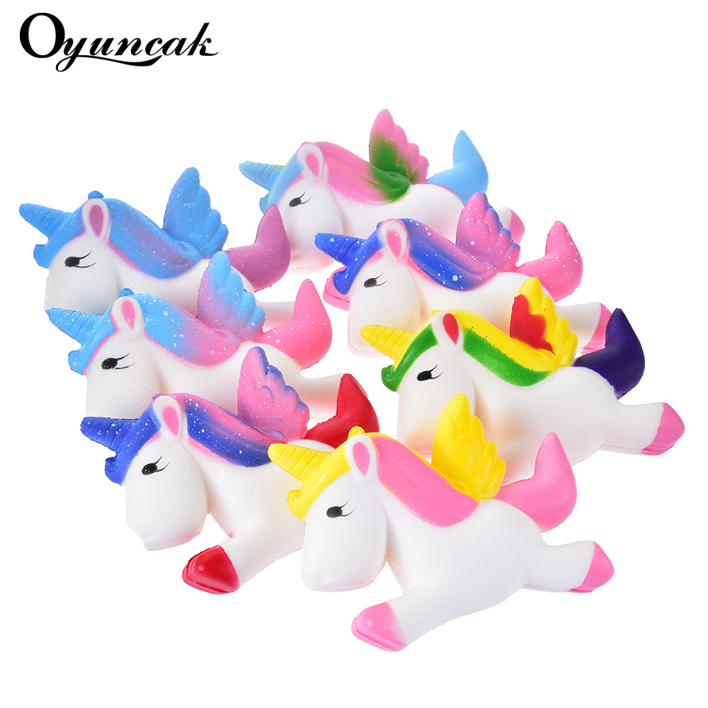 Oyuncak Squishy Unicorn Squishe Antistress Novelty Gag Toys Anti-stress Fun Stress Relief Gags Practical Jokes Squeeze Toy Gift