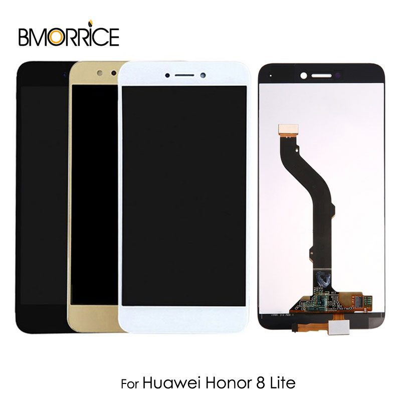 For Huawei <font><b>Honor</b></font> <font><b>8</b></font> Lite <font><b>Original</b></font> LCD <font><b>Display</b></font> Touch Screen Digitizer No Frame Full Assembly Replacement 5.2'' AAA Quality image