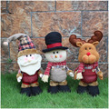 2pcs/set Kawaii Christmas Gifts Elf/Snowman/ Santa Claus Christmas Tradition Kids Birthday 62*16cm Plush Toys