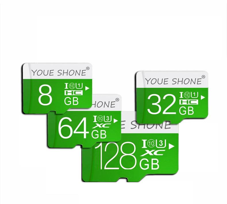 Высокая скорость Class10 tarjeta micro sd 8 GB 16 GB 32 GB Microsd карты памяти 64 GB 128 GB micro sd Card картао де memoria Подарок адаптер