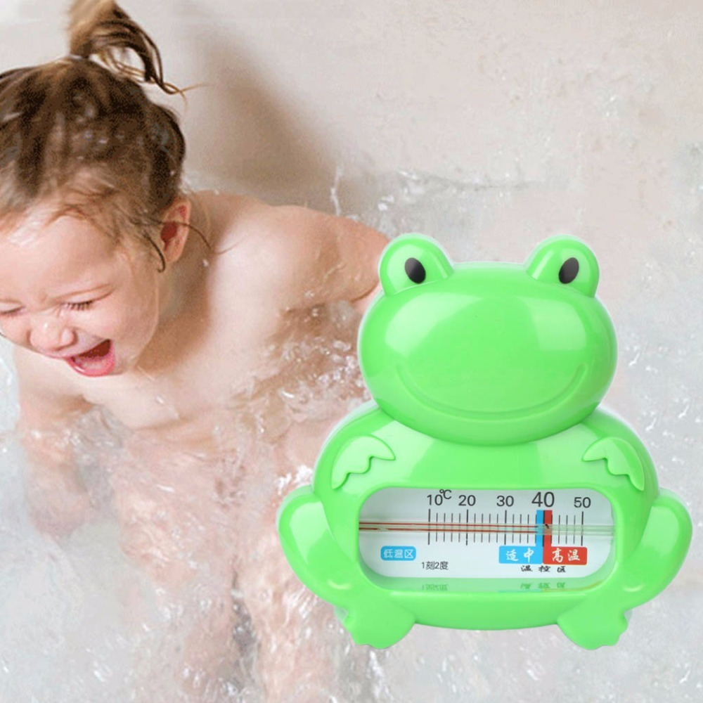 Water Room Thermometer Baby Bathing Frog Shape Temperature Infant ...