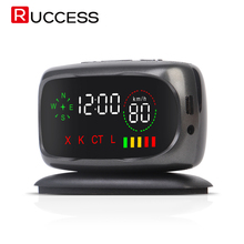 Ruccess S800 Car Radar Detector GPS Anti Speed Detectors For Russia X K CT L Strelka Alarm System