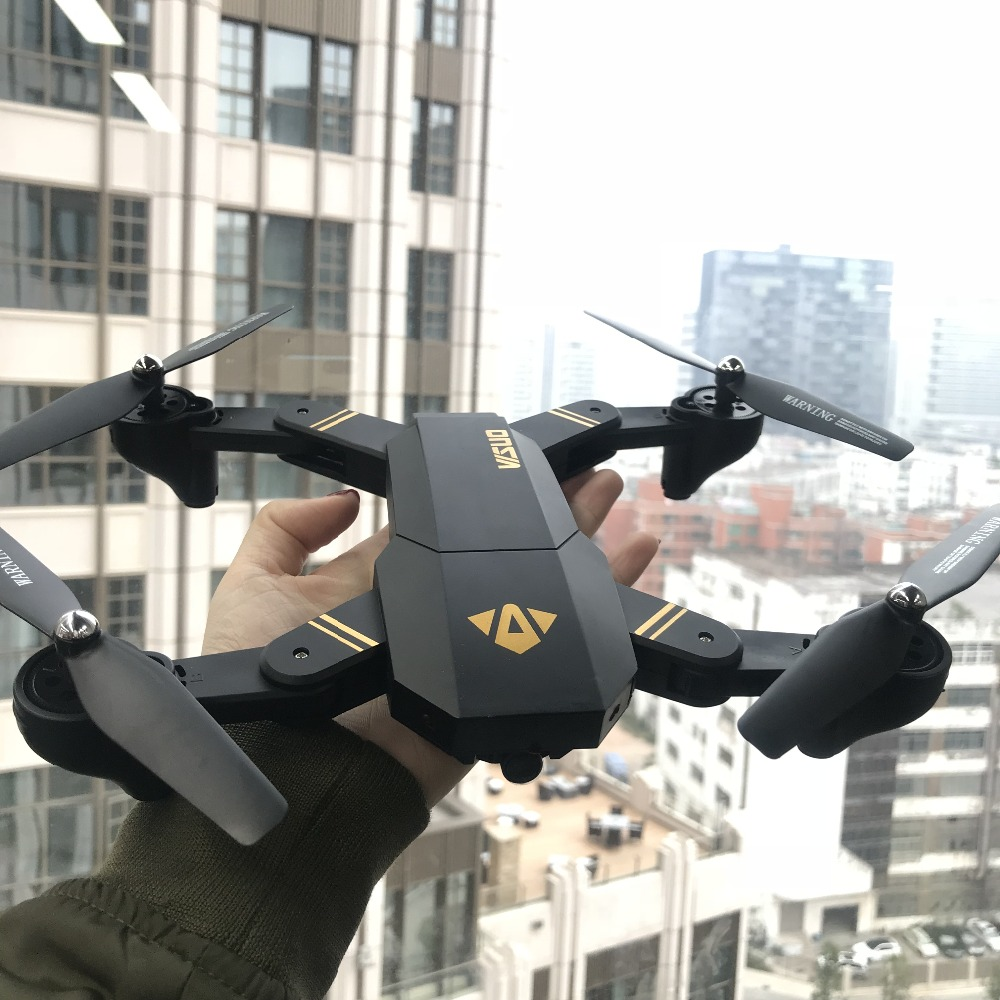 XS809W XS809HW Droni con foto/videocamera Auto Mini Pieghevole Aria Selfie Drone RC Quadcopter RTF WiFi FPV Macchina Fotografica Mantenimento di Quota Vs Eachine E58