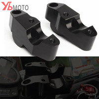 Picks Accessories For BENELLI TNT600 BN600 BJ600 High Quality Motorcycle Handlebar Riser Heightening Device One Pair Black Parts