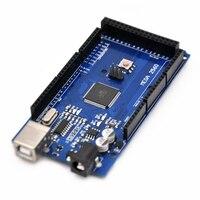 10pcs MEGA 2560 R3 Board ATmega2560 ATMEGA16U2 USB Cable For Arduino