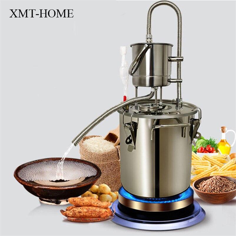 XMT-HOME maison brassage alcool moonshine distillateur vinification liqueur Brandy eau distillateur alcool distillation 10L/20L 1 ensemble