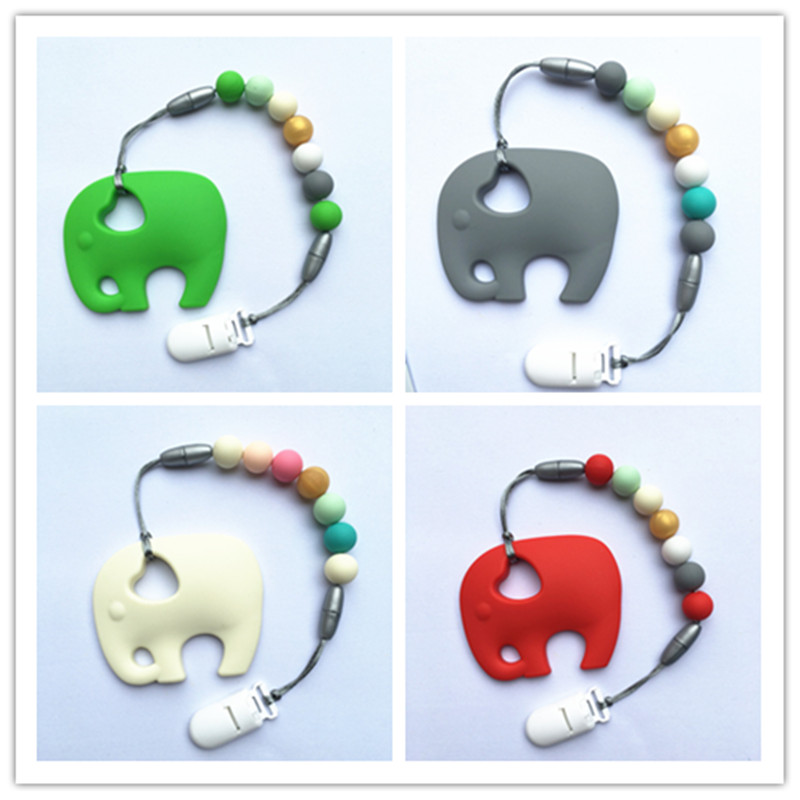 Bpa silicone baby teething pendant clips silicone teether pacifier bpa silicone baby teething pendant clips silicone teether pacifier clip with large elephant pendant chew necklace bead wholesale in pendant necklaces from aloadofball Choice Image