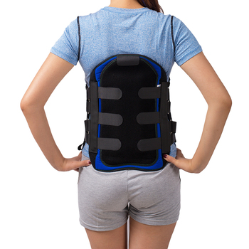 American Style Lumbar Sacral Back Brace Lumbosacral Corset Spinal Orthosis Support Belt LSO Brace