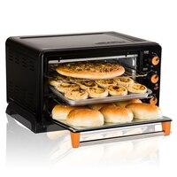 1500 Вт Multi Функция электрический духовой домашней выпечки торт мини 25L автоматический Baker Нержавеющаясталь жаровня горизонтальные печи