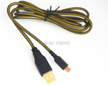 New 3DS High Quality Gild USB Data Transfer Charger Charging Cable For 3DSLL XL