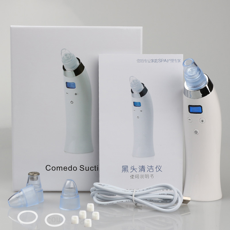 Blackhead Removal Comedo Suction Beauty Machine For Face and Nose, acne removal device,skin microdermabrasion peel equipment