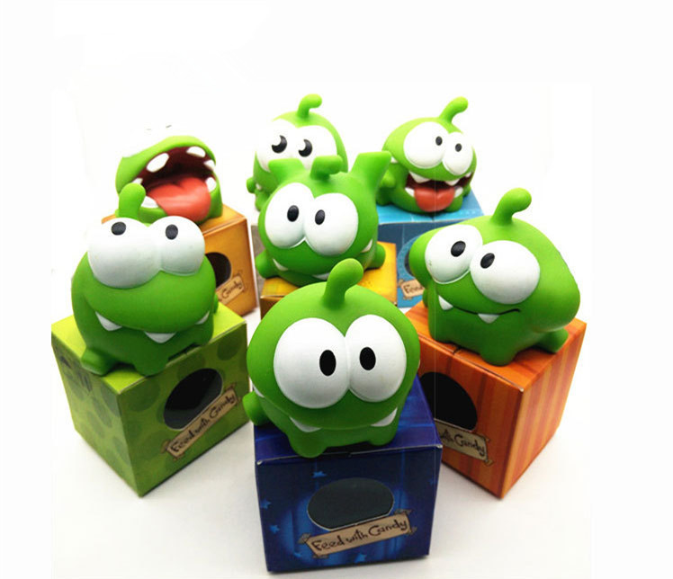 1pcs Kawaii cut the rope Om Nom Doll Toys Cartoon cut the rope Soft Animals Doll Children Kids Birthday Gift image
