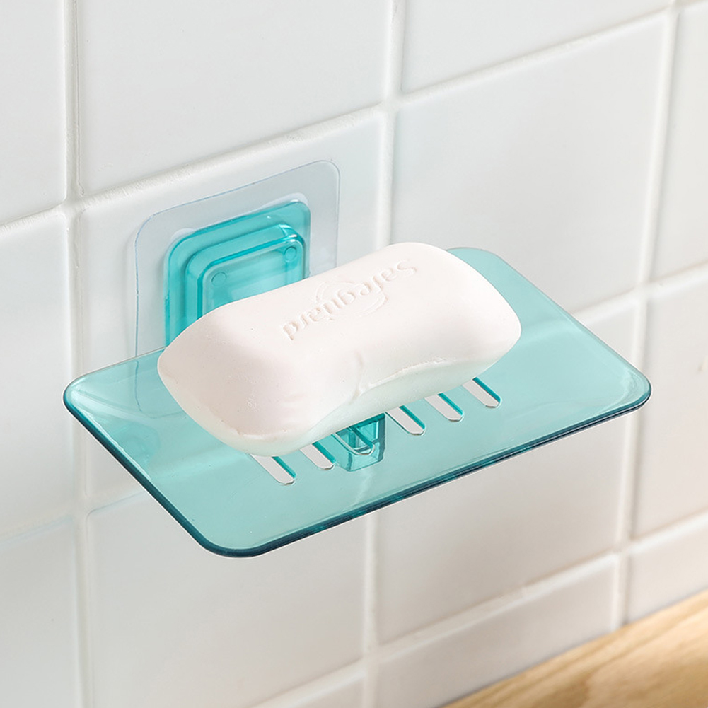 Portable Bathroom Travel Wash Shower Container Soap Dish Box Case With Lid KI