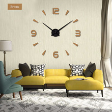 muhsein  Wall Clock Modern  design Home DIY wall clock home decoraction Large wall sticker Unique Gift