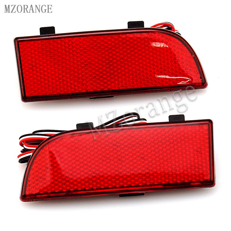 MZORANGE For Mercedes Benz Sprinter W906 2006 2007 2008 2009 2010 2011 2012 2013 2014 2015 2016 Rear Bumper Reflector Light citall rear spare tire cover tail bumper light fog lamp for mitsubishi pajero shogun 2007 2009 2010 2011 2012 2013 2014 2015