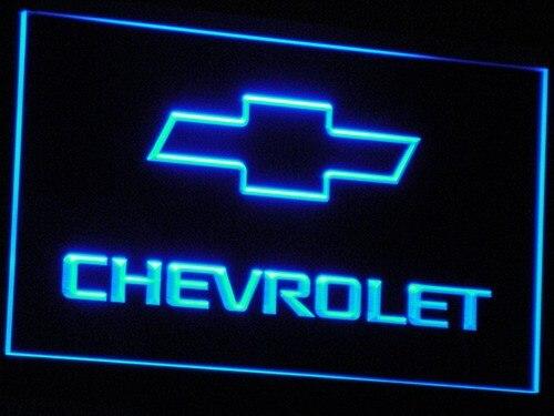 D032 CHEVROLET Neon LED Sign z włącznikiem/wyłącznikiem 20 + kolory 5 rozmiarów do wyboru wysłane w ciągu 24 godzin