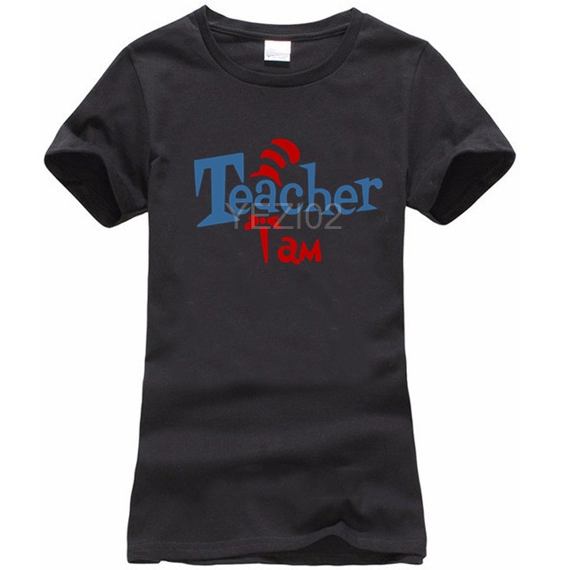 TEACHER I AM DR SEUSS CAT IN THE HAT FUNNY HUMOUR FULL COLOR SUBLIMATION T SHIRT