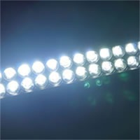 120W LED Light Bar Spot Work Lights Lamp Truck Car Boat Offroad Camping White