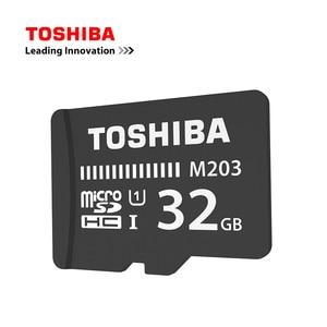 Image 3 - Cartão de memória toshiba m203, original, UHS I 16gb 32gb microsdhc 64gb 128gb microsdxc cartão de classe u1 fullhd tf