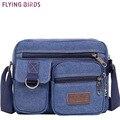 Летящие птицы! мужчины сумки посыльного crossbody холст мужчины сумка мужская дорожные сумки брендов 2016 новый высокого качества bolsas LM0467fb