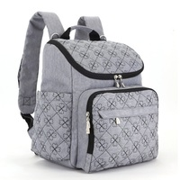 Diaper Bag Fashion Mummy Maternity Travel Diaper Backpack Nappy Changing Nursing Bag Stroller Organizer Multifunction Baby Care