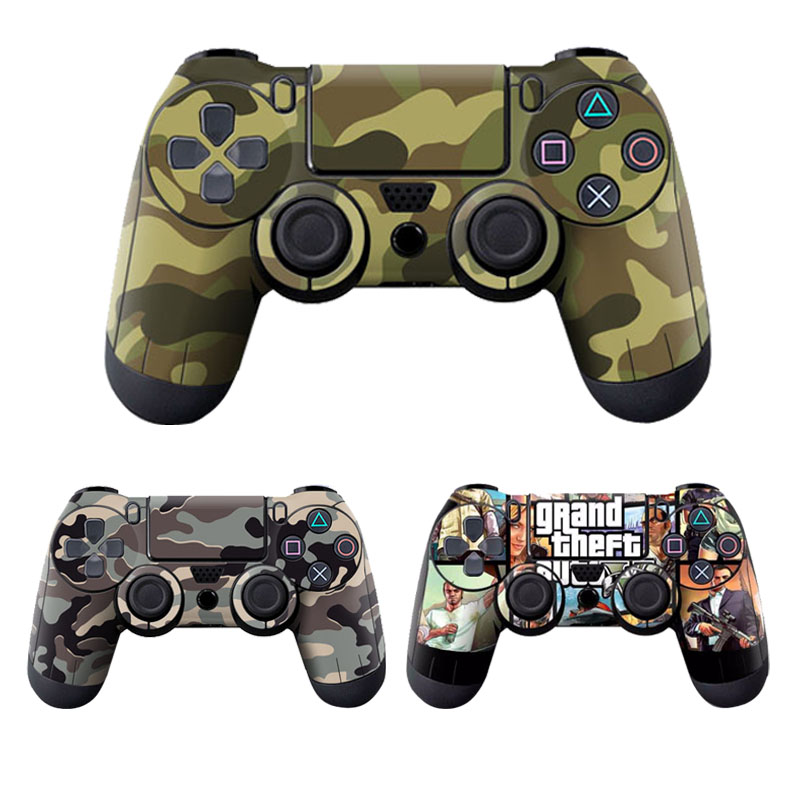 Camouflage Stickers Cover For Sony Playstation 4 Cotroller Skin Sticker For PS4 Controller image
