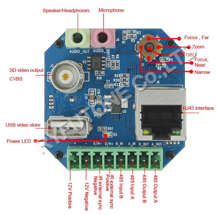 Dome Camera Board Wiring Diagram - WIRE Center •