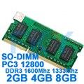 Marca de Memoria DDR3 Ram 1600 MHz 2 GB 4 GB 8 GB para portátil Sodimm Compatible con Memoria DDR 3 de 1600 a 1333 MHz 1066 MHz