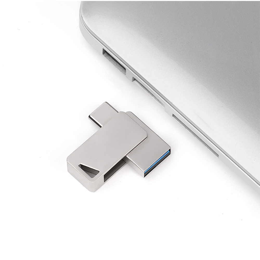 3 2 1 USB Flash Drive High Speed 2-in-1 Type-C and USB 3.0 connectors U Disk Ultra Durable Casing 8GB/16GB/32G/64G/128GB Memory Stick (4)