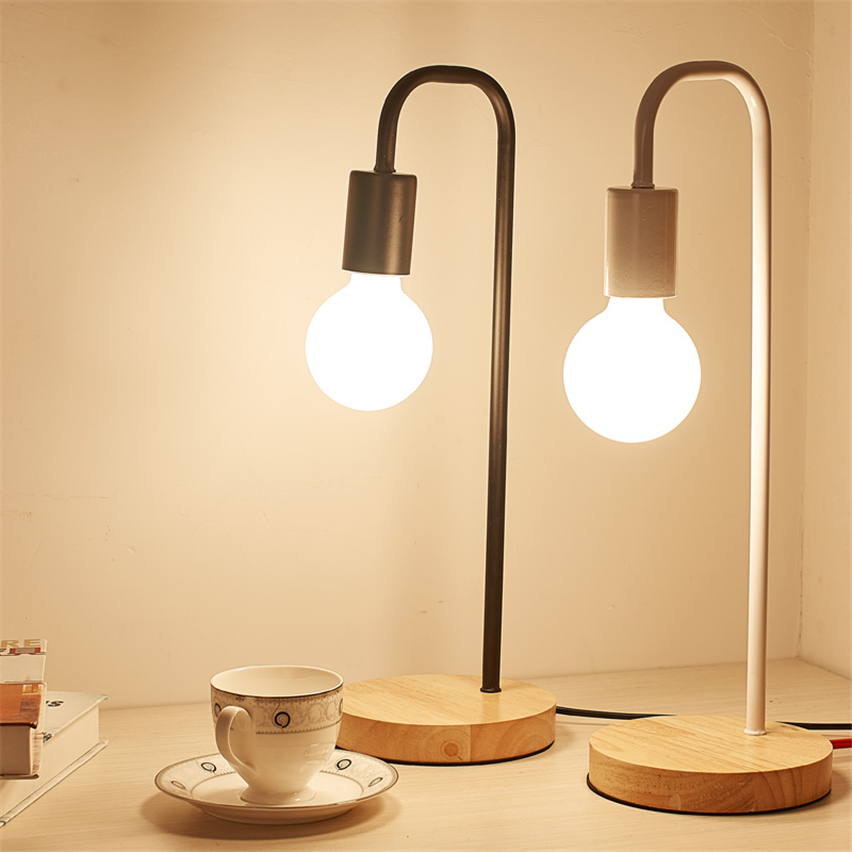Quality Table Lamps: JW_High Quality Table Desk Bed Lamp Simple Light For