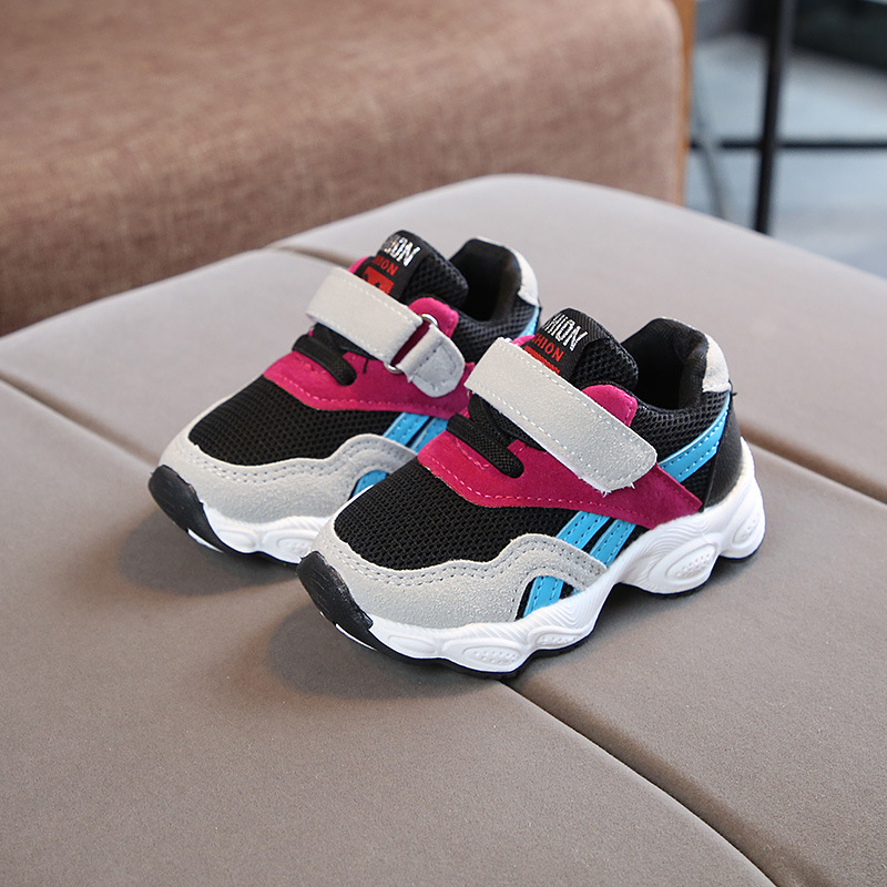 Fashion Children Casual Shoes Breathable Famous Brand Kids Sneakers Comfortable Sports Girls Boys Shoes Size 21-30